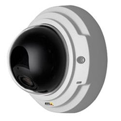P3354 12MM Day/Night Fixed Dome Network Camera with Lightfinder in a Discreet, Tamper-resistant Indoor Casing. Vari-focal 3.3-12 MM P-iris Lens, Remote Focus and Zoom. Max. HDTV 720p or 1MP at 30 fps. WDR - Dynamic Contrast