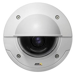 P3384-VE Day/Night Fixed Dome Camera, WDR - Dynamic Capture, Vandal-resistant Outdoor Casing, Vari-focal 3-9MM P-iris Lens, Remote Focus and Zoom.  Max. HDTV 720p or 1MP at 30 fps. Lightfinder.
