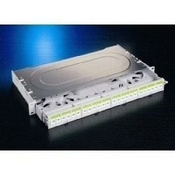 16 PORT PANEL ST LOADED       MULTIMODE PLASTIC GREY