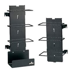 Vertical Cord Manager, 300-Pair, Wall Mount, 16 Gauge Steel, With Bottom Cable Tray, For Basic Unit