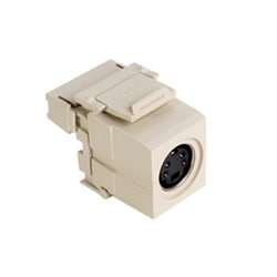 QuickPort 110-Type to Female S-Video, Ivory