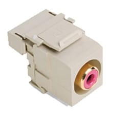 QuickPort RCA 110-Type, Red Barrel, Ivory