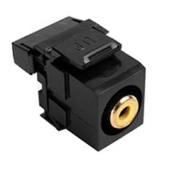 QuickPort RCA 110-Type, Yellow Barrel, Black