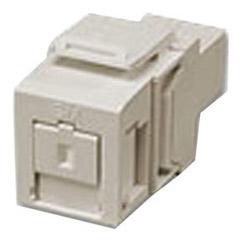 QuickPort monomode SC Simplex fibre optique adaptateur Module, zircone céramique, Ivoire