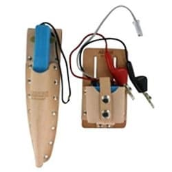 Tone Test Set and Inductive Speaker Probe, Each Includes A Belt Holster
