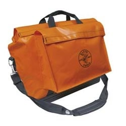 Vinyl Equipment Bag, Orange, Large