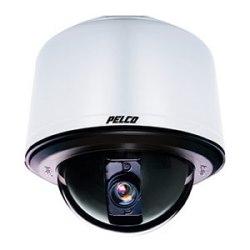 Spectra IV SE 29 x Optical Zoom système de caméra dôme environnementale, montage plafond / mural, Backbox gris clair et bulle claire. NTSC. Comprend les composants suivants de Pelco : DD429, BB4-PG-E, LDHQPB-1