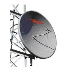 0.6 m | 2 ft Standard Parabolic Unshielded Antenna, single-polarized, unpressurized, 1.900-2.300 GHz, N Female, gray antenna, molded gray radome with flash, standard pack - one-piece reflector