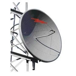 0.6 m   2 ft Standard Parabolic Unshielded Antenna, single-polarized, unpressurized, 2.300-2.500 GHz, N Female, gray antenna, molded gray radome with flash, standard pack - one-piece reflector
