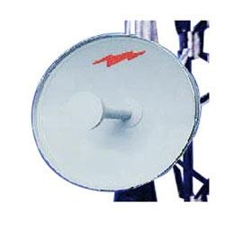 1.2 m | 4 ft Standard Parabolic Unshielded Antenna, single-polarized, unpressurized, 2.300-2.500 GHz, N Female, gray antenna, molded gray radome with flash, standard pack - one-piece reflector
