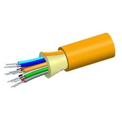 Low Smoke Zero Halogen Riser Distribution Cable, 12 fiber single-unit