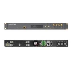 Optical Transmitter, 5 dBm output per wavelength, ITU 37-31, high SBS, AGC, ac powering, SC/APC connectors, four optical outputs