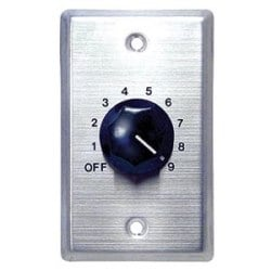 70/25 Volt Wall Plate Volume Control