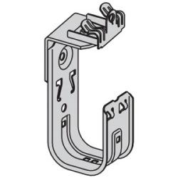 """1-5/16"""" J-crochet avec faisceau de Hammer-on pince attache, tourne 360 Deg; Épaisseur de bride de faisceau : 1/8""""- 1/4"""""""