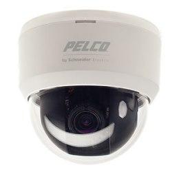 Caméra dôme fixe : intérieur, haute résolution, 12/24 V, jour/nuit, NTSC, lentille de 2,8 à 10,5 mm