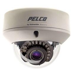 Caméra dôme fixe : Standard extérieure 12/24 V, NTSC, 3-9 mm lentille