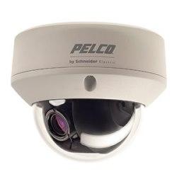 Caméra dôme fixe : intérieur standard  12/24 V, jour/nuit, NTSC, lentille de 2,8 à 10,5 mm