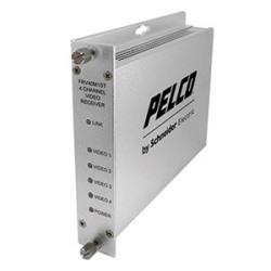 4 10-bit Digital vidéo multiplexeur 2 données bidirectionnel et 1 Contacts fermés Bi-directional récepteur Multimode ST connecteur de canal