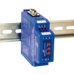 Isolated RS-232 To RS-485 DIN Rail Converter