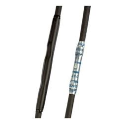 """Thermorétractable tubes, mince, double mur Pack Black, pi 75 Pieces, adhésif, diamètre.19""""(0,4mm), 100"""