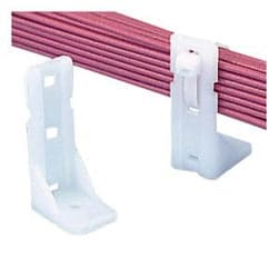 "Cable Tie Mount, Standoff, 2""(50,8 mm) H #12 vis (M6), Pack de 10"