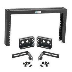 """6 RU Ladder Rack Bracket, Bracket fits Wyr-Grid Overhead Cable Tray. Dimensions: 15.75""""H x 20.26""""W x 3.26""""D (400.1mm x 514.6mm x 82.8mm)"""