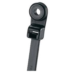 """Clamp Tie, 6.1""""L (155mm), #8 Screw, Intermediate, Weather-resistant, Black, Pack of 100"""