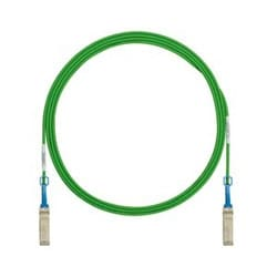 SFP+ 10Gig Direct Attach Passive Copper Cable Assembly, 3m, Green