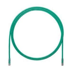 Cat 6A Patch Cord, UTP, Green, 17 FT (Pack of 25)