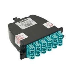 LC Duplex Adapter Cassette, OM4+ Sig Core, 24-fiber, Ultra Low Loss, Standard Method A