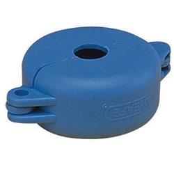 """Gate Valve dispositif de verrouillage pour 1"""", 2,5» poignée de diamètre, bleu, cordon de raccordement/pk 1"""