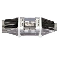 Kit contains HTCT6X-6X-1 HTAP and CLRCVR1-1 clear cover; terminates code or flex #6 - #14 AWG Run, code or flex #6 - #14 AWG Tap 1.