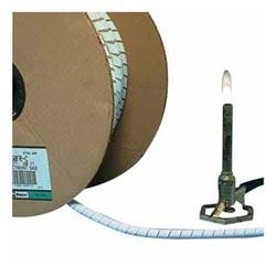 """Enveloppe de spirale,. 25""""(6,3 mm) x 100', Poly ignifuge, blanc, Pack de 100"""