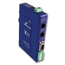 Modbus Gateway, (1) Serial DB9 or TB, (2) 10/100 Ethernet RJ45