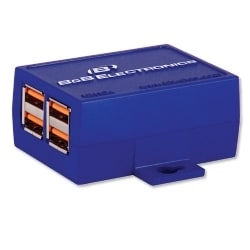 Four Port Industrial USB Hub - UH104