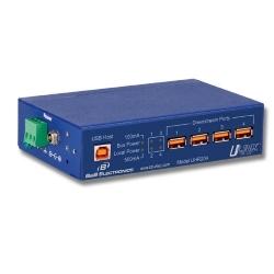 USB Port 4 pôle industriel, UHR204