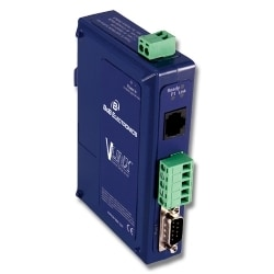 Ethernet Serial Server, (1) Serial DB9 or TB, (1) 10/100 Ethernet RJ45