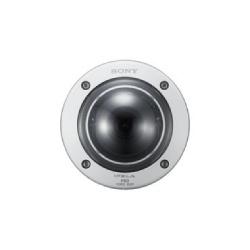 FHD IP caméra actionné par moteur IPELA EX, vandale, Indoor, Minidome, 1080p/60FPS, View-DR 90 db, xDNR, DEPA avancé, Easy-zoom, Easy-focus, VBR/CBR, stockage de Edge, PoE, DC 12 V / AC 24 V