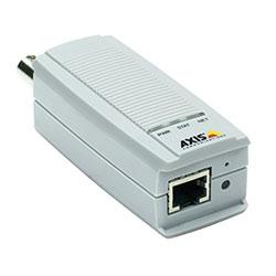 Encodeur vidéo 1-canal. Double diffusion en H.264 et en Motion JPEG; Max. D1 à fps 30/25. Détection de mouvement vidéo. Alimentation par Ethernet (IEEE 802,3af) seulement. Aucun injecteur