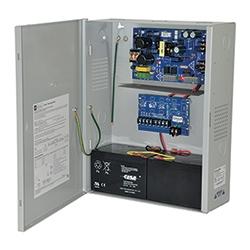 Power Supply Charger, 4 PTC Class 2 Outputs, 12/24VDC @ 2A, Aux Output, FAI, LinQ2 Ready, 115VAC, BC400 Enclosure