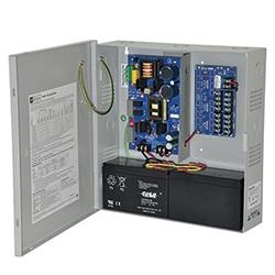 Power Supply Charger, 8 PTC Class 2 Outputs, 12/24VDC @ 6A, Aux Output, FAI, LinQ2 Ready, 115VAC, BC300 Enclosure