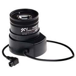Vari-focal IR-Corrected Lens With DC-iris. Compatible With AXIS P1353/-E, P1354/-E, Q1602/-E, Q1604/-E