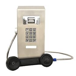 Solide et Compact Mini Wall Mount téléphone avec clavier. Conçu dans un format compact et durable pour s'adapter facilement à vos environnements les plus exigeants