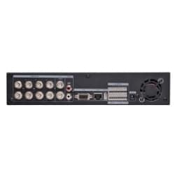 8 Channel H.264 DVR with USB, IR Remote, 240 fps 2 TB HDD, CMS Software, 3G Mobile, PC/MAC