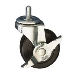 Casters for E Enclosures, all locking