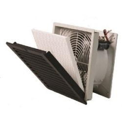 Fan Assembly (includes filter) and exhaust filter for NEMA 12 Enclosures, 230 CFM, 115V