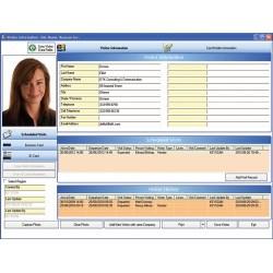 Système VII accès contrôle gestion logiciel Visitor Management Module complémentaire