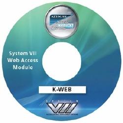 License d'accès Web de logiciel de gestion de contrôle d'accès System VII