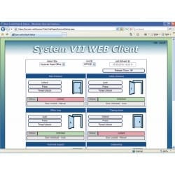 System VII Access Control Management Software Web Access License