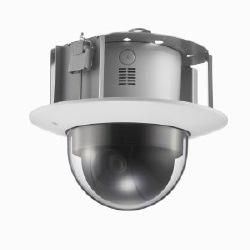 """PS Exmor extérieure panoramique/inclinaison/Zoom caméra 1/3"""", 720p, 60 images/s, MJPEG/H.264, fouzi +, visibilité Enhancher, XDNR, 130 dB vue p, 30 X zoom, fonction jour/nuit, audio, désembuage mode, fente pour carte SD, DEPA Advanced Platform."""